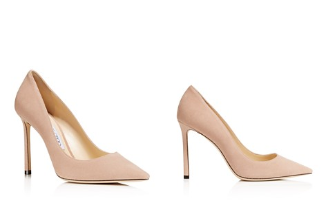 Jimmy Choo Women's Romy 100 Suede High Heel Pointed Toe Pumps - Bloomingdale's_2